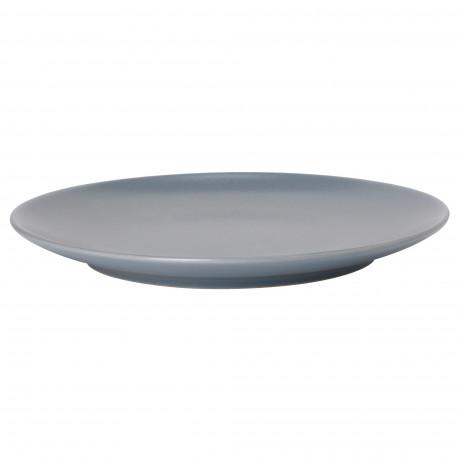 Тарелка десертная ДИНЕРА серо-синий фото 3