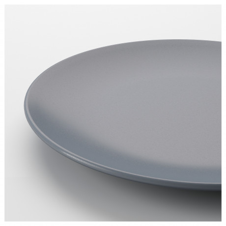 Тарелка десертная ДИНЕРА серо-синий фото 4