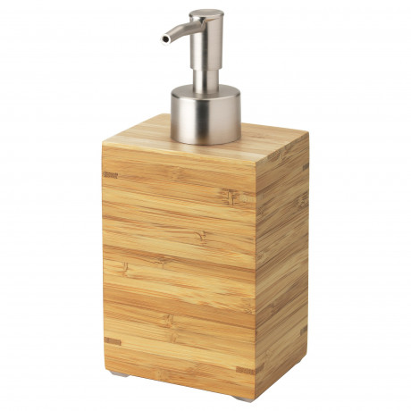 Дозатор для жидкого мыла ДРАГАН бамбук фото 0