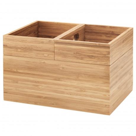 Набор коробок,3шт ДРАГАН бамбук фото 3