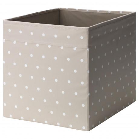 Коробка ДРЁНА бежевый, точечный фото 0