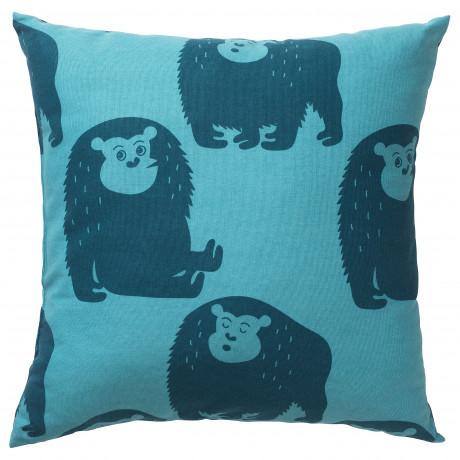 Подушка ДЬЮНГЕЛЬСКОГ обезьянка, синий фото 0