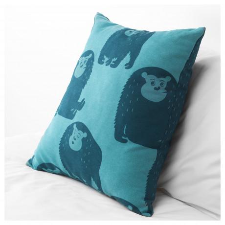 Подушка ДЬЮНГЕЛЬСКОГ обезьянка, синий фото 1