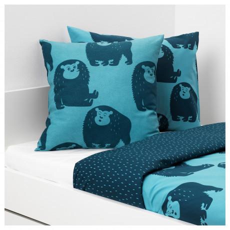 Подушка ДЬЮНГЕЛЬСКОГ обезьянка, синий фото 2