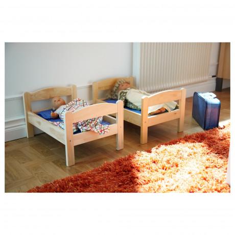 Куколн кровать с компл пост белья ДУКТИГ сосна, разноцветный фото 2