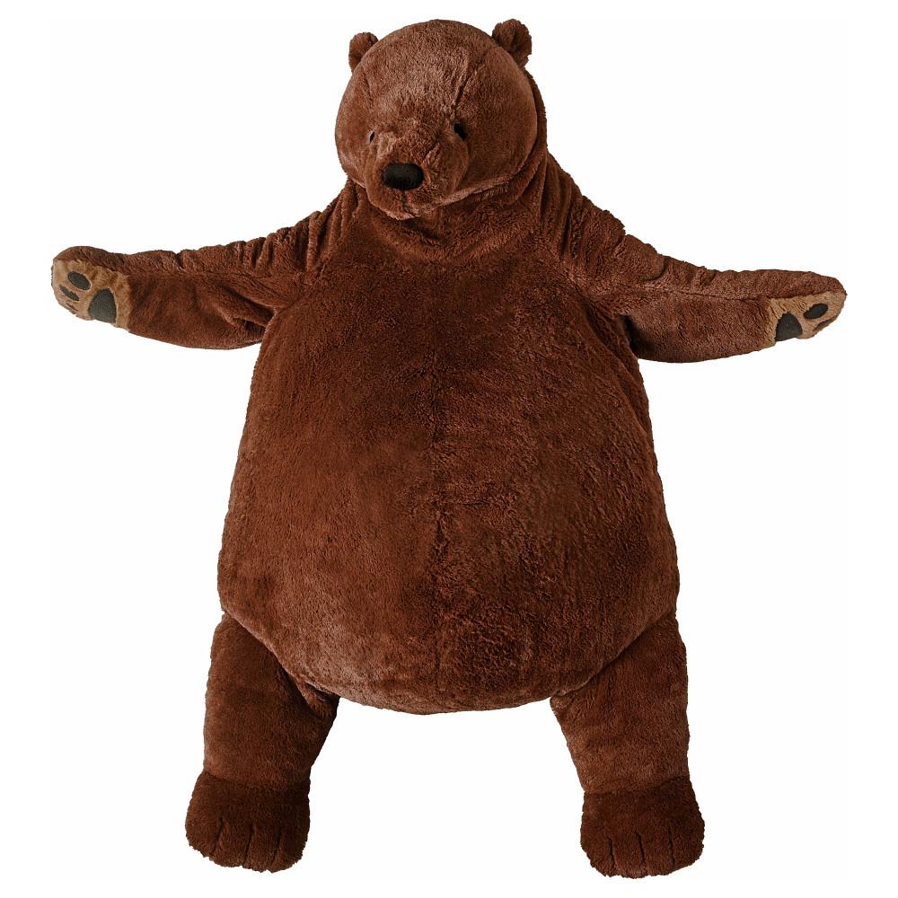 Мягкая игрушка ДЬЮНГЕЛЬСКОГ бурый медведь  фото 1