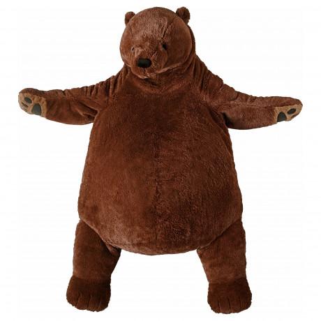 Мягкая игрушка ДЬЮНГЕЛЬСКОГ бурый медведь фото 3