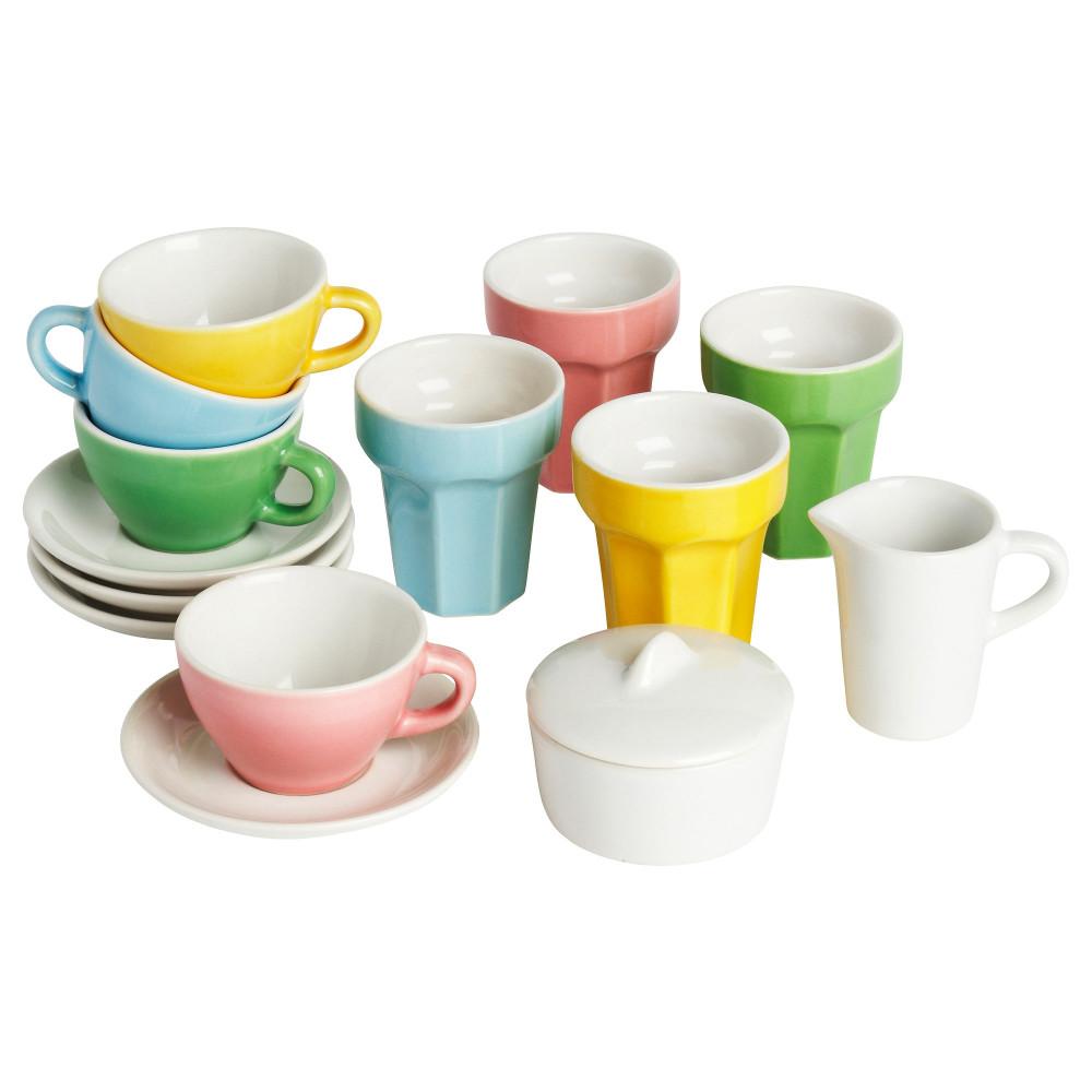 Набор для кофе/чая, 10 прдм ДУКТИГ разноцветный  фото 1