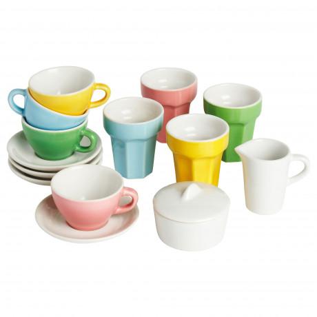 Набор для кофе/чая, 10 прдм ДУКТИГ разноцветный фото 3