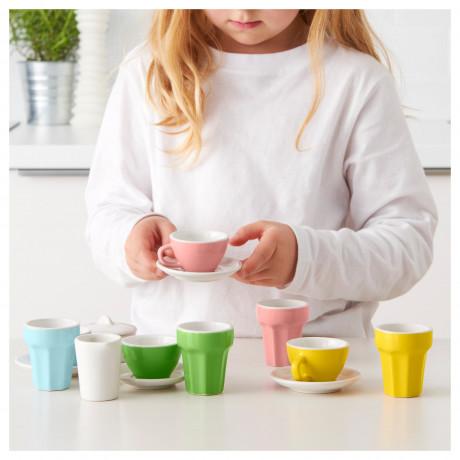 Набор для кофе/чая, 10 прдм ДУКТИГ разноцветный фото 4