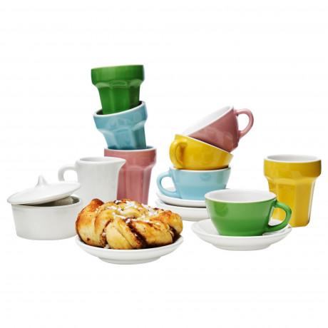 Набор для кофе/чая, 10 прдм ДУКТИГ разноцветный фото 5