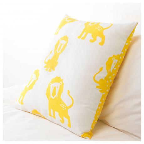 Подушка ДЬЮНГЕЛЬСКОГ лев, желтый фото 1