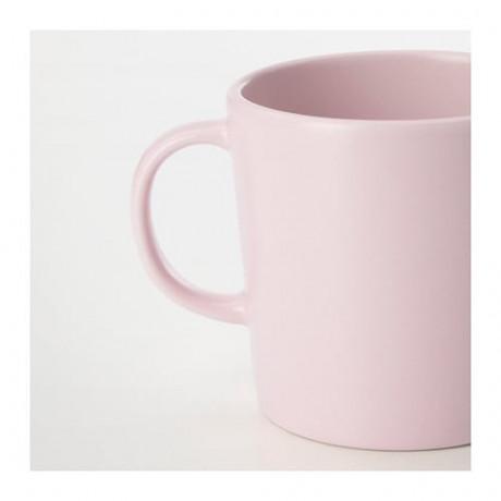 Кружка ДИНЕРА светло-розовый фото 1