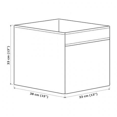 Коробка ДРЁНА темно-серый фото 0
