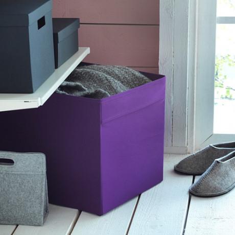 Коробка ДРЁНА фиолетовый фото 1