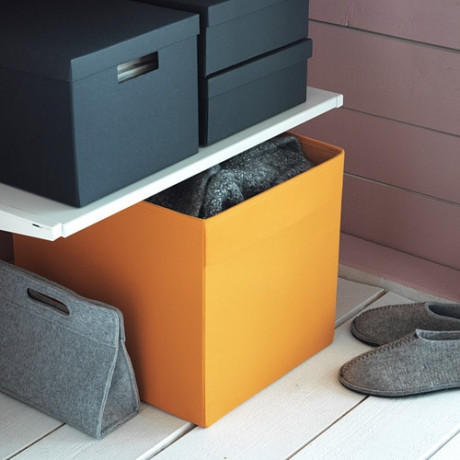 Коробка ДРЁНА оранжевый фото 1
