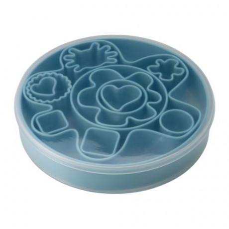 Набор формочек для печенья, 14 шт ДРОММАР голубой фото 1