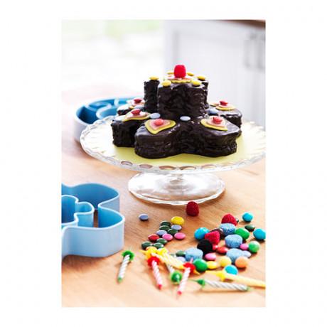 Набор формочек для печенья, 14 шт ДРОММАР голубой фото 3